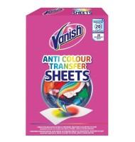 Servetele Anti-Transfer de Culoare Vanish x 20 Bucati