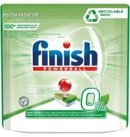 Detergent de Vase Tablete pentru Masina de Spalat Finish Verde Max x 40 Bucati