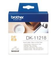 Banda Etichete Brother Rotunde 24mm 1000...