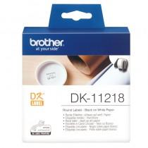 Banda Etichete Brother Rotunde 24mm 1000 etichete DK11218