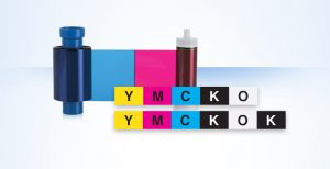 Ribon imprimanta carduri YMCKOK