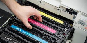 inlocuire toner imprimanta