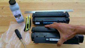Reincarcare toner laser