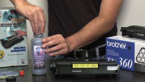 Toner laser reincarcare