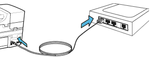 Conectare cablu imprimanta