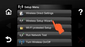 Setare imprimanta HP wireless