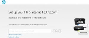 Instalare software imprimanta HP