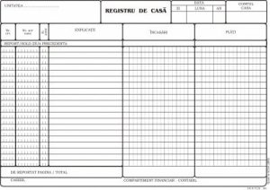 model registru de casa tipizat