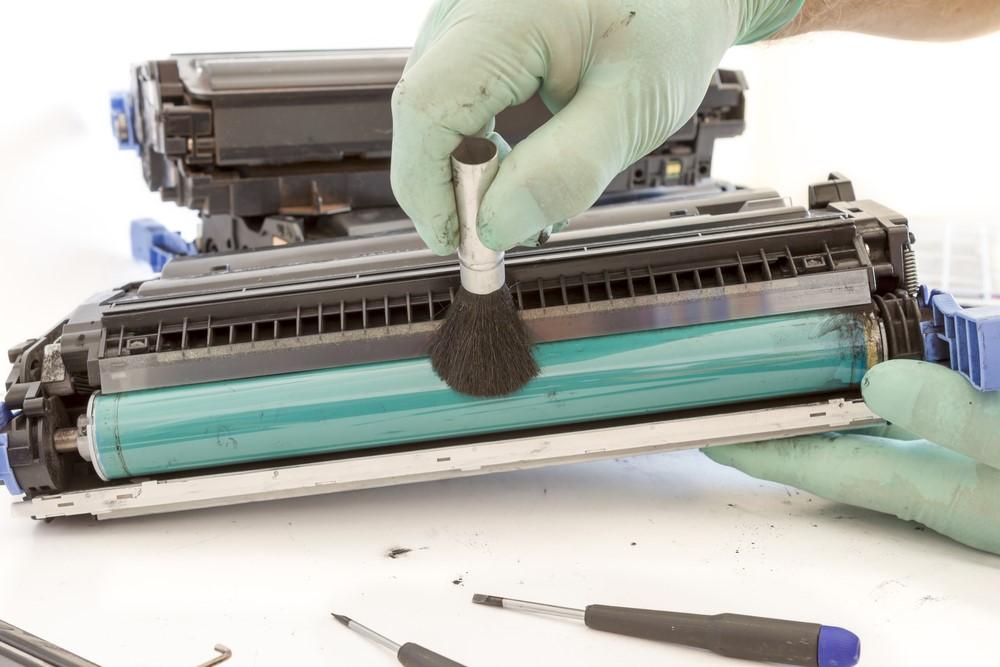 Curatare cilindru imprimanta laser