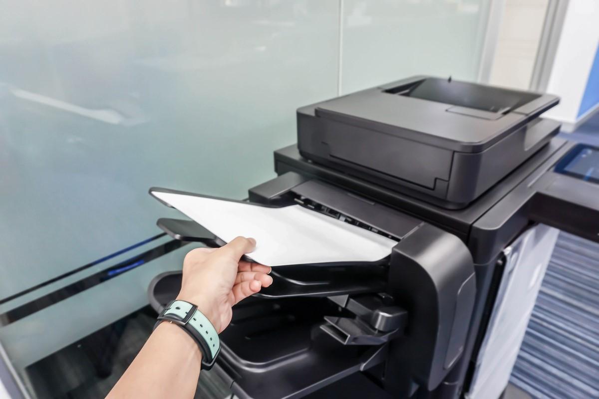 ADF la Imprimanta