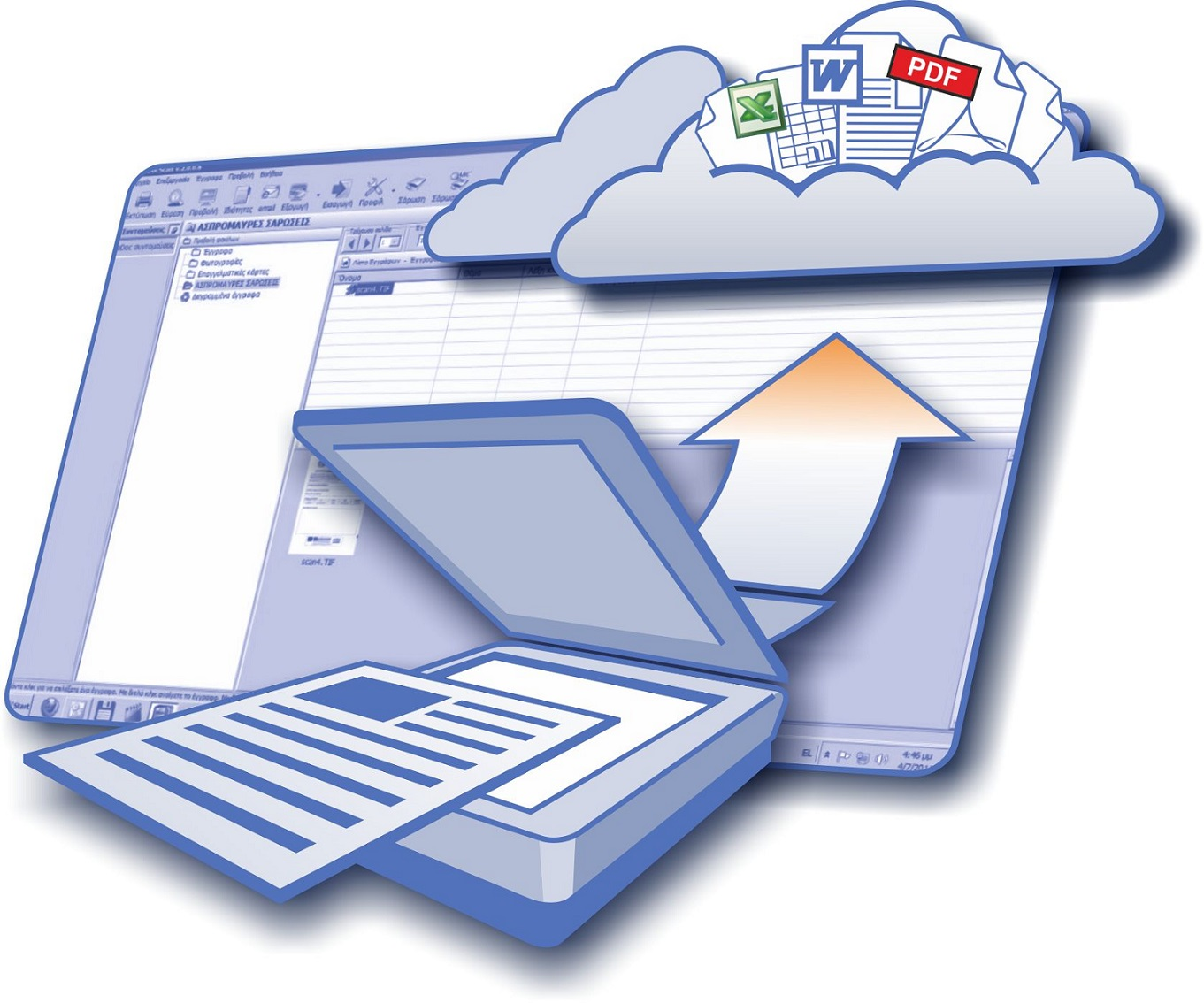 Scanarea documentelor: ce este și care sunt pașii pe care trebuie să îi urmezi