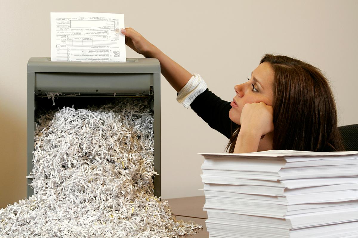 Distrugator de documente