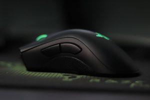 Mouse gaming senzor