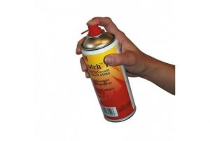 Spray rugina