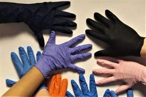 Manusi nitril colorate