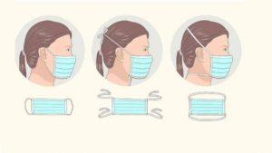 Cum se poarta masca