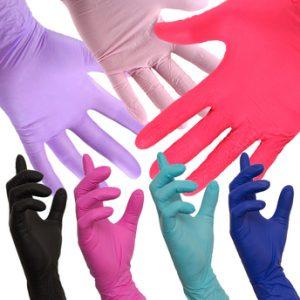 Manusi medicale colorate