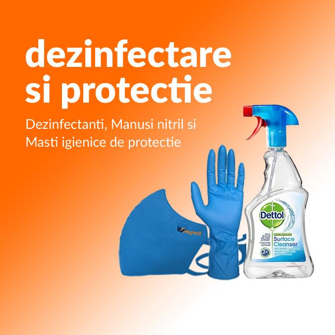 dezinfectare si protectie